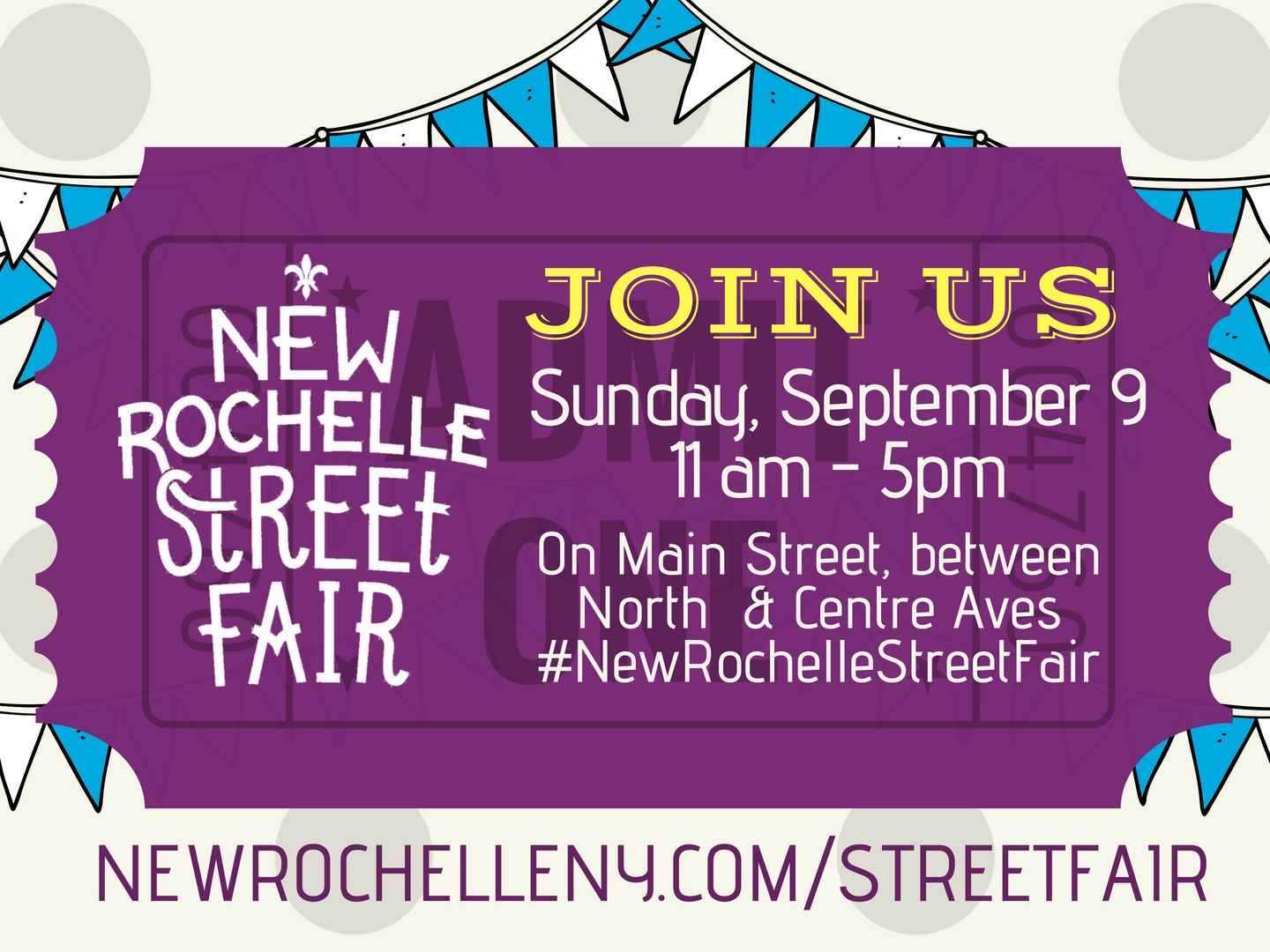 New Rochelle Street Fair 2018