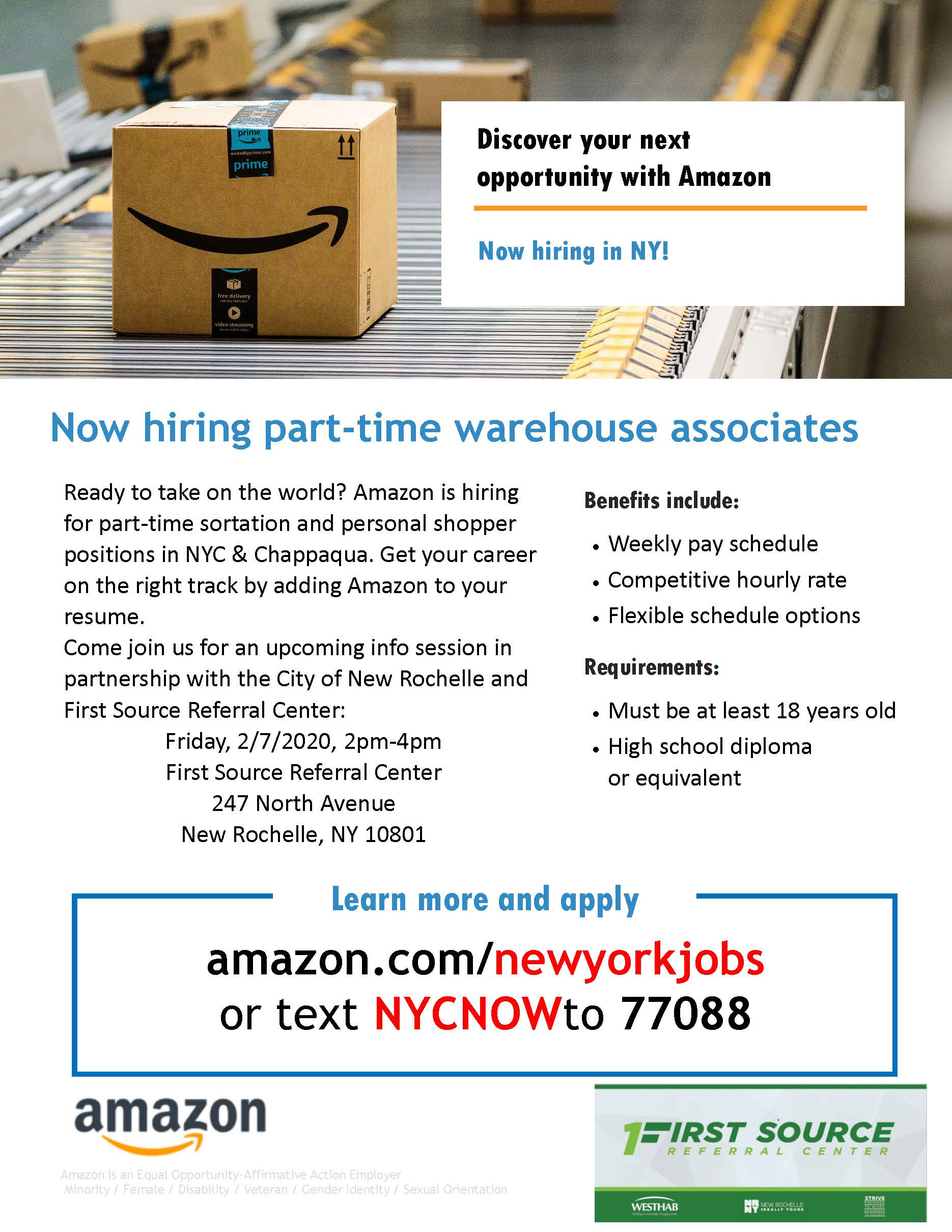 Amazon Hiring Event 20200207