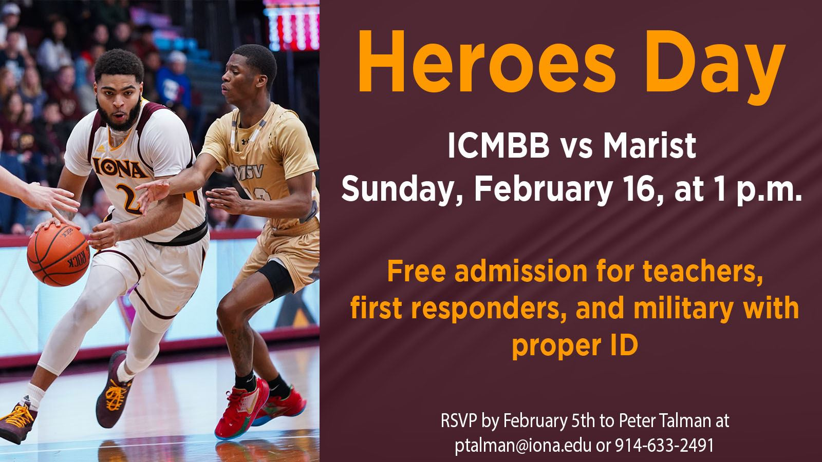 ICMBB Heroes Day Flyer