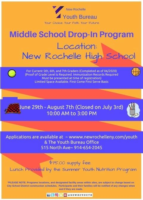 MiddleSchoolDropInProgram