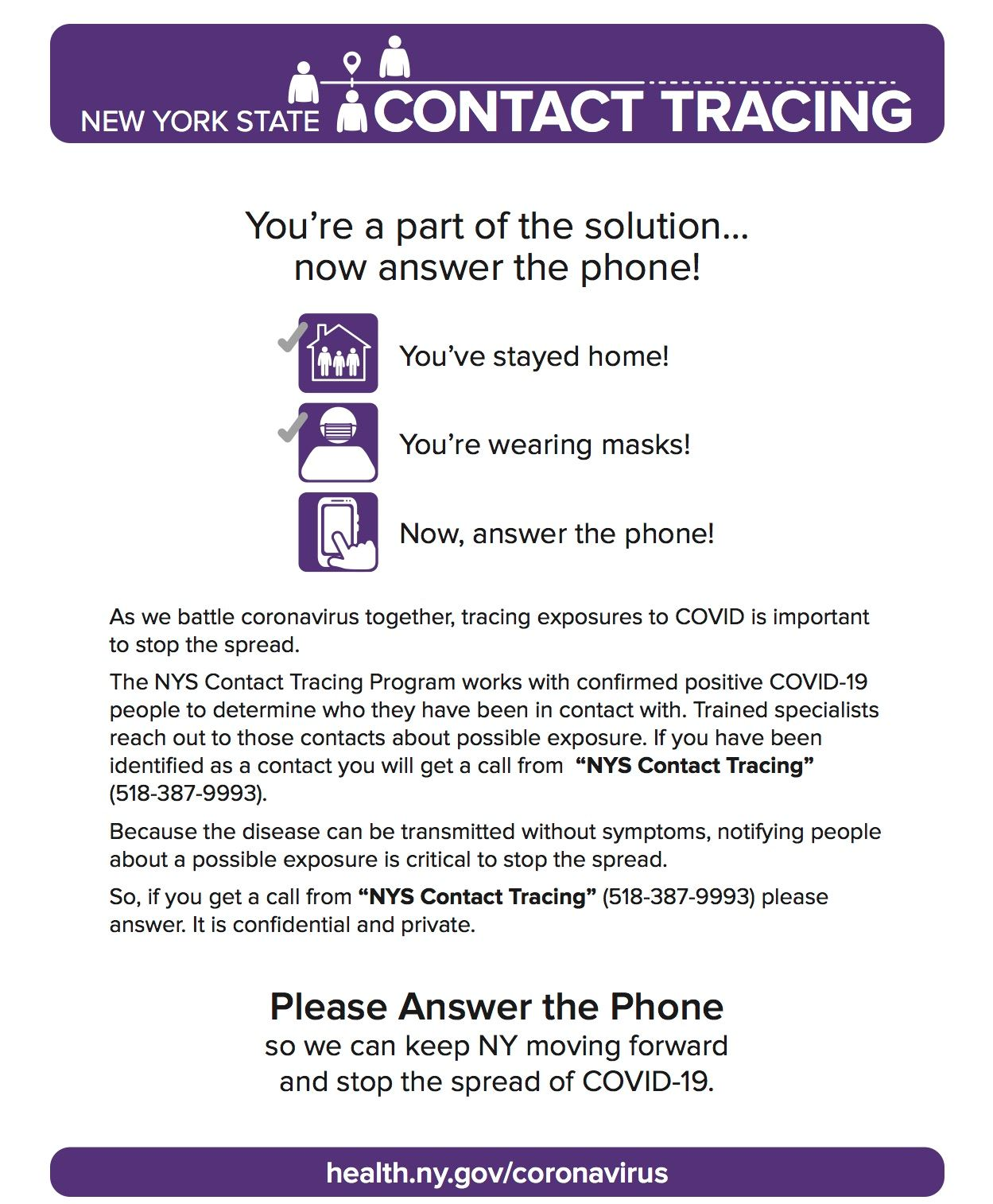 NYSContactTracingFlyer