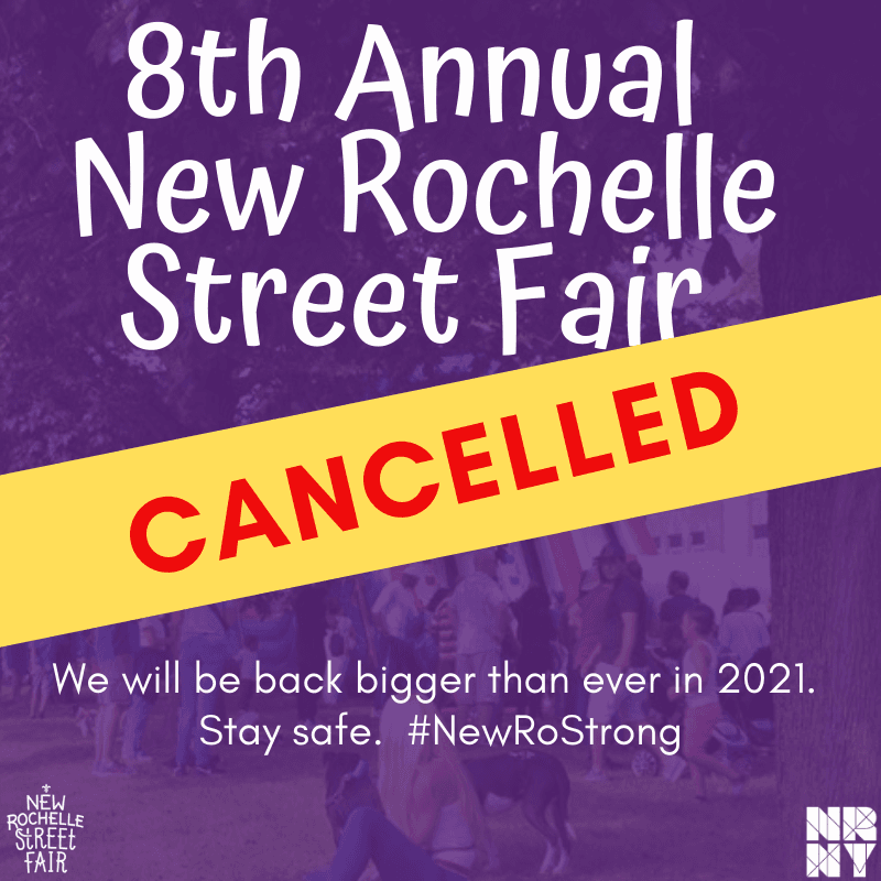 Street Fair Cancelled