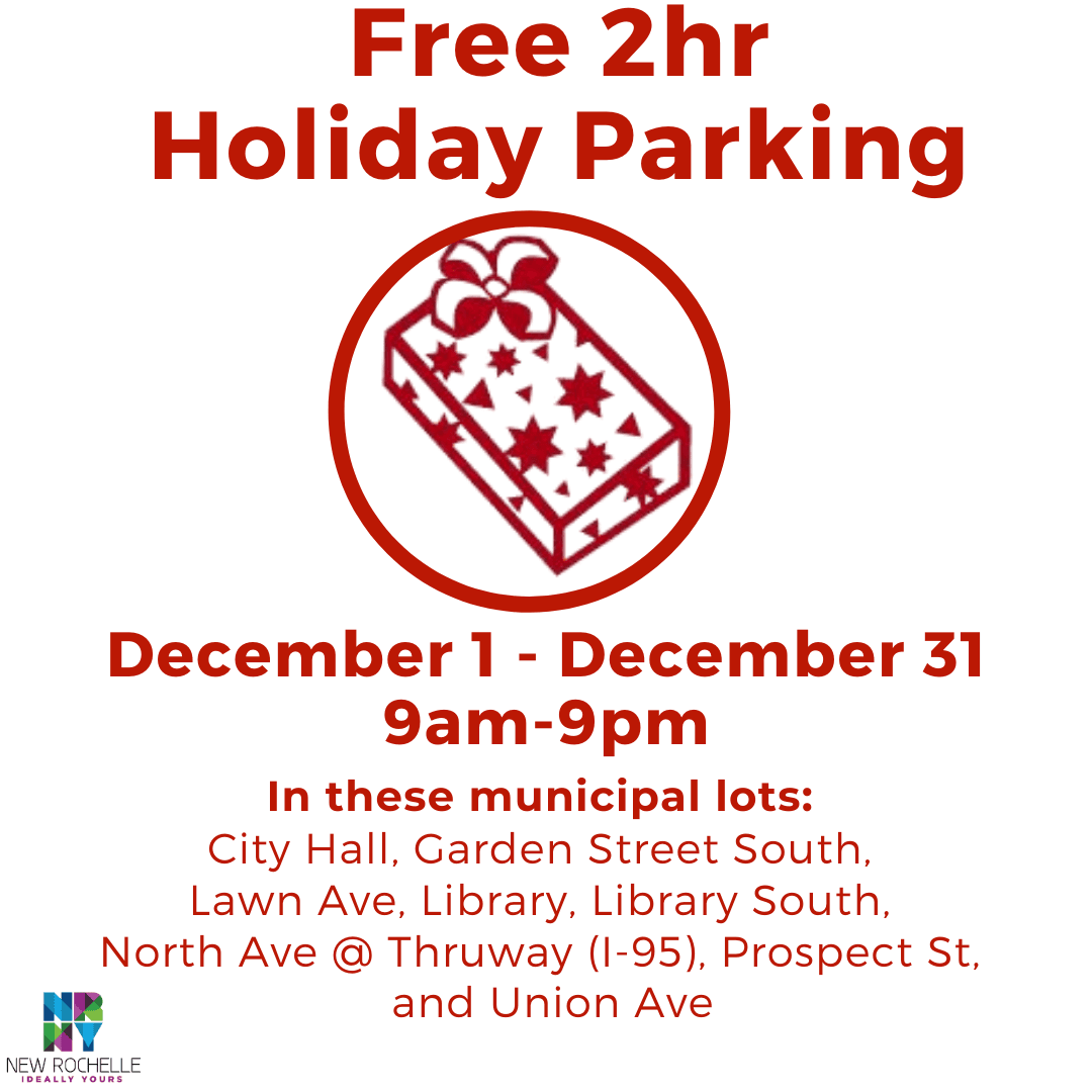 2hr Free Holiday Parking