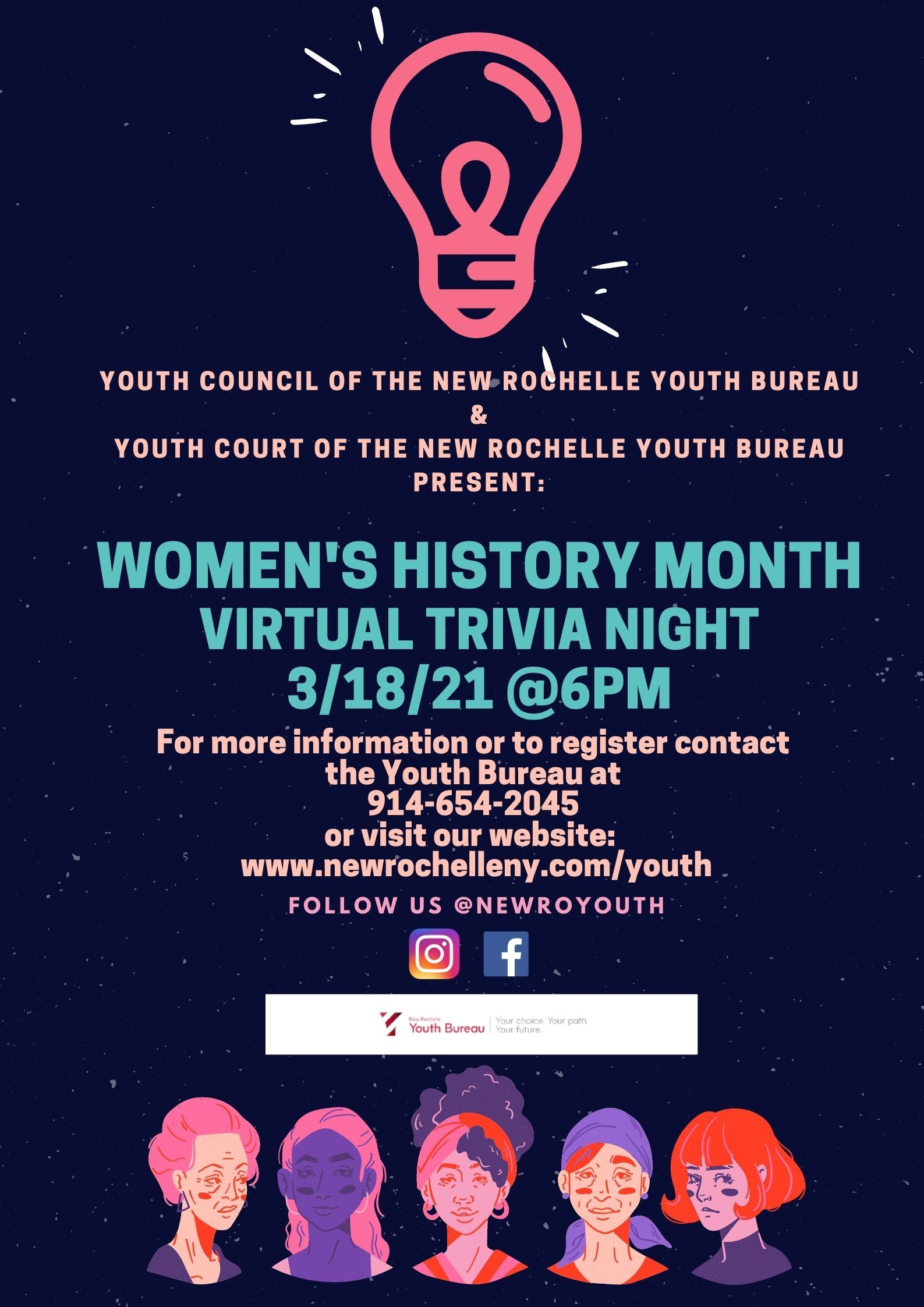 Youth Council Women's History Month Trivia Night