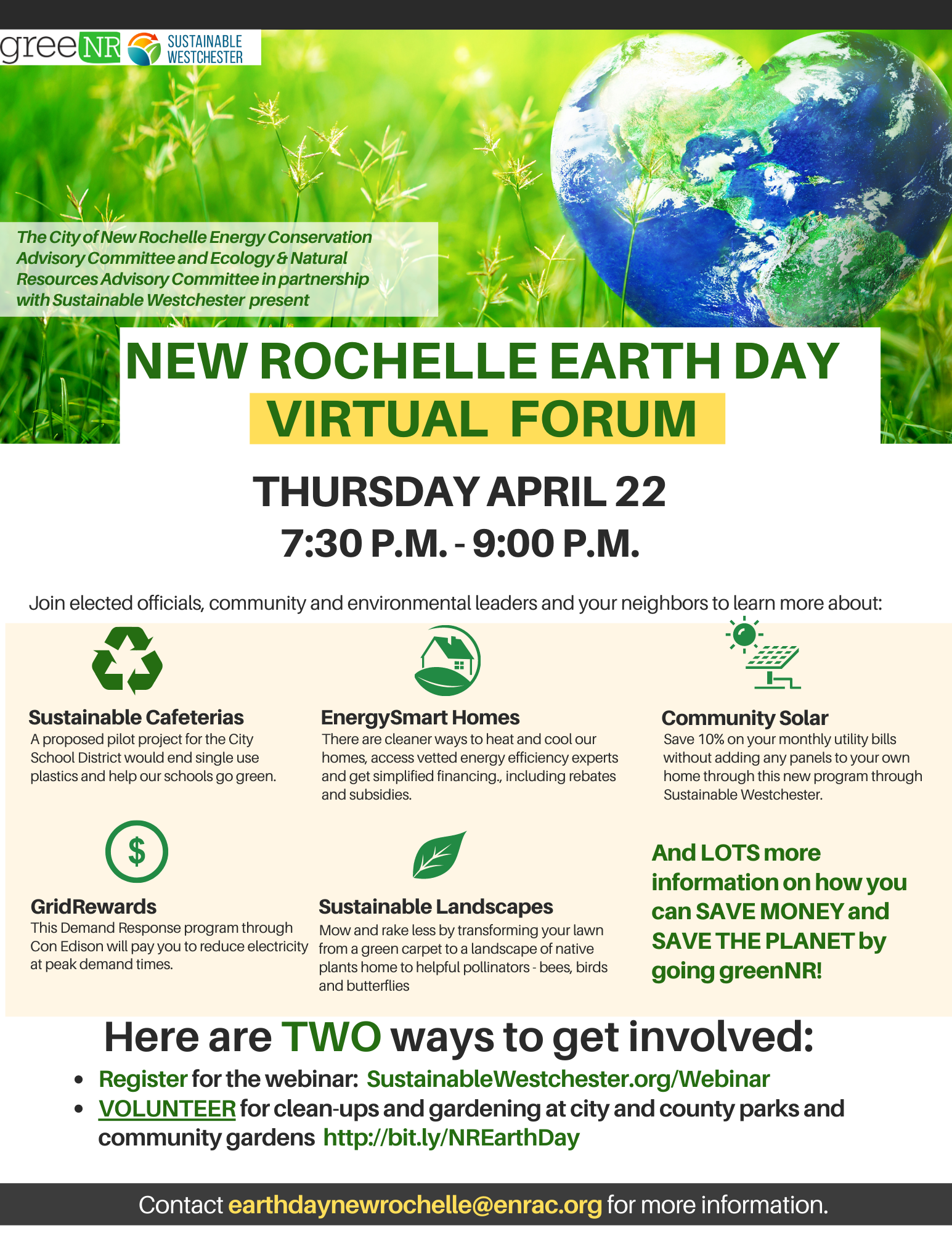 New Rochelle Earth Day Virtual Forum_Info Flyer (1)