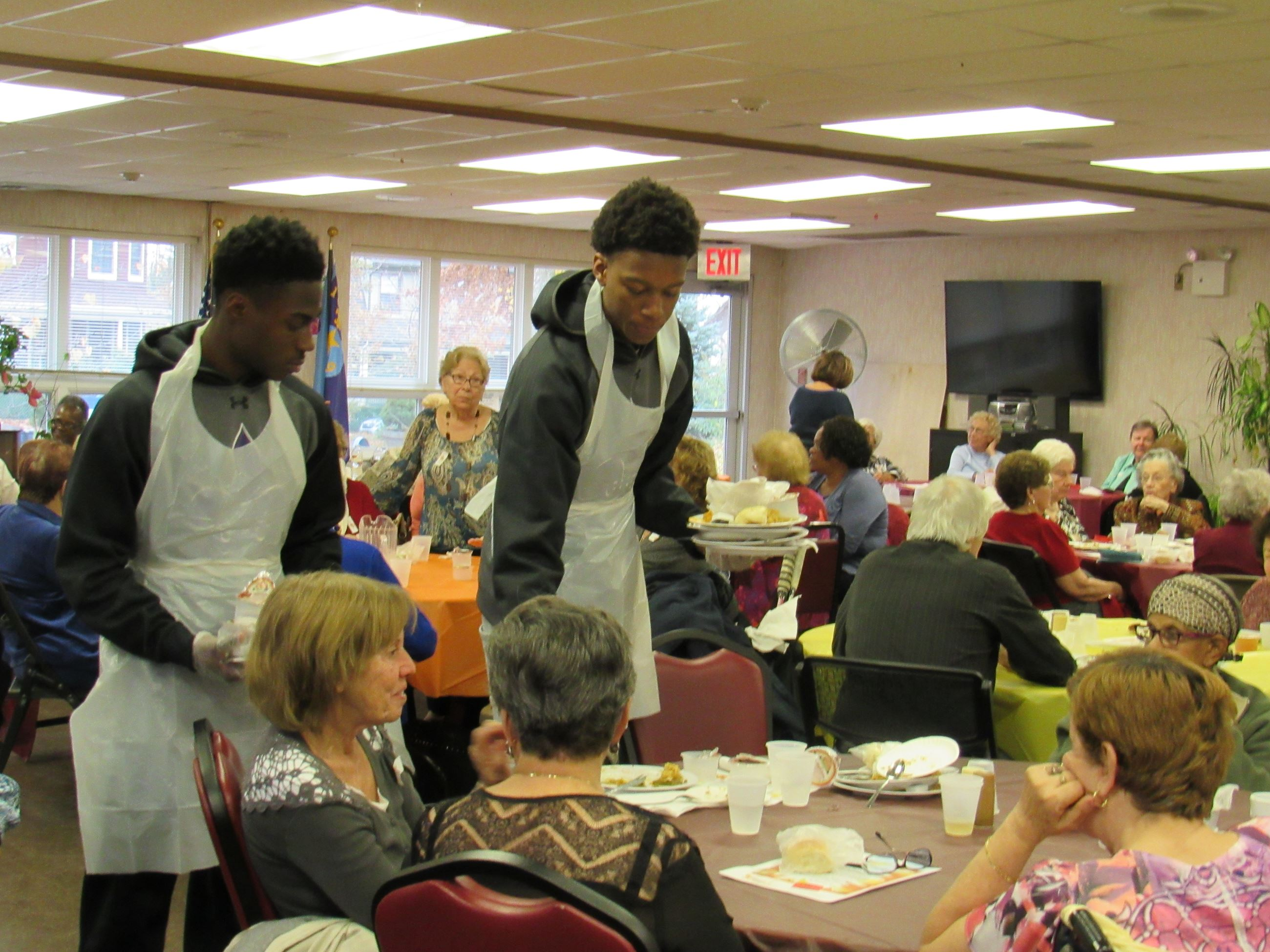 2015 Senior Citizen Thanksgiving Luncheon
